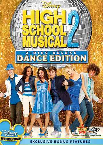 HIGH SCHOOL MUSICAL 2:DELUXE DANCE ED BY EFRON,ZAC (DVD)